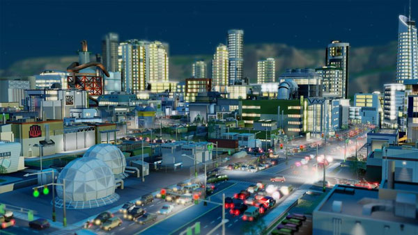 Simcity-Traffic